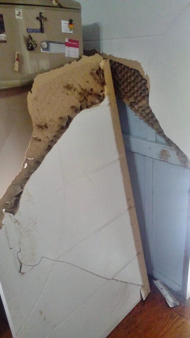 Ladrões invadem casa no interior de Peritiba, furtam e reviram cômodos do imóvel