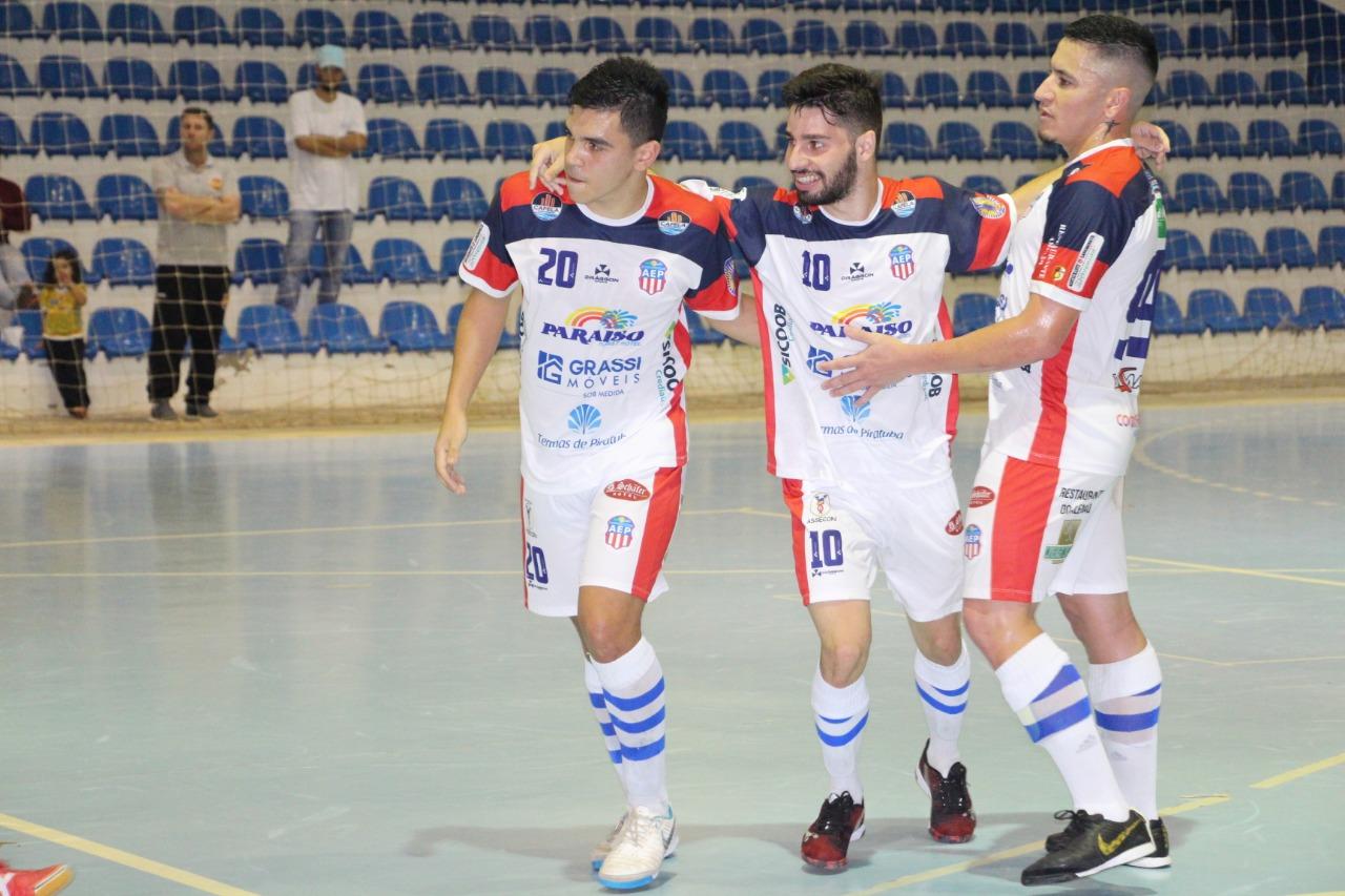 AEP Termas de Piratuba Futsal vence em casa pela Liga Catarinense