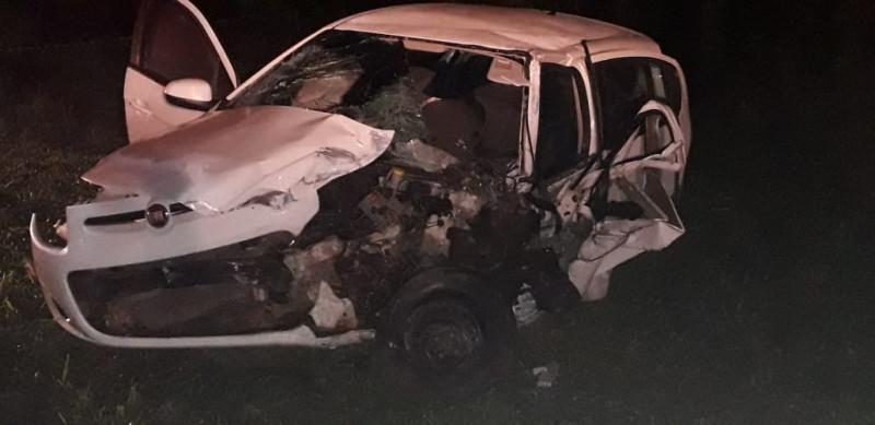 Pelo menos cinco pessoas se feriram em colisão envolvendo quatro veículos em Concórdia