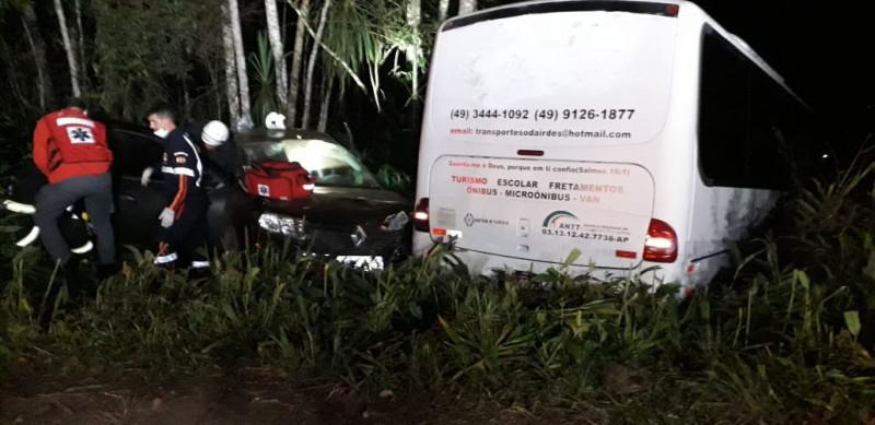 Polícia prende motorista envolvida em acidente
