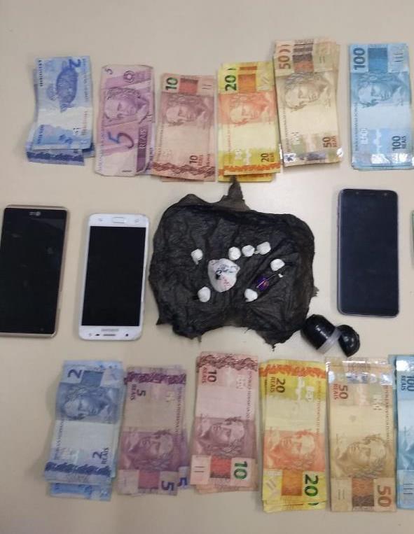 Três pessoas são detidas por posse de cocaína em Concórdia