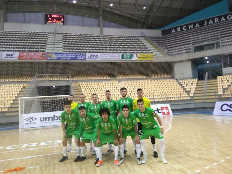 ACF vence Jaraguá Futsal e é vice-líder do Catarinense Sub-20