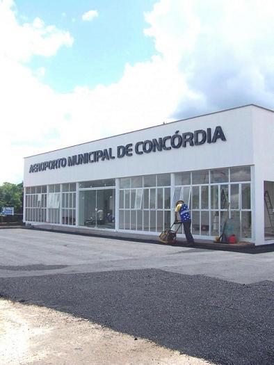Administração licita reformas no Aeroporto Municipal de Concórdia