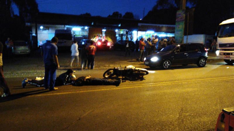 Duas pessoas feridas em dois acidentes de trânsito