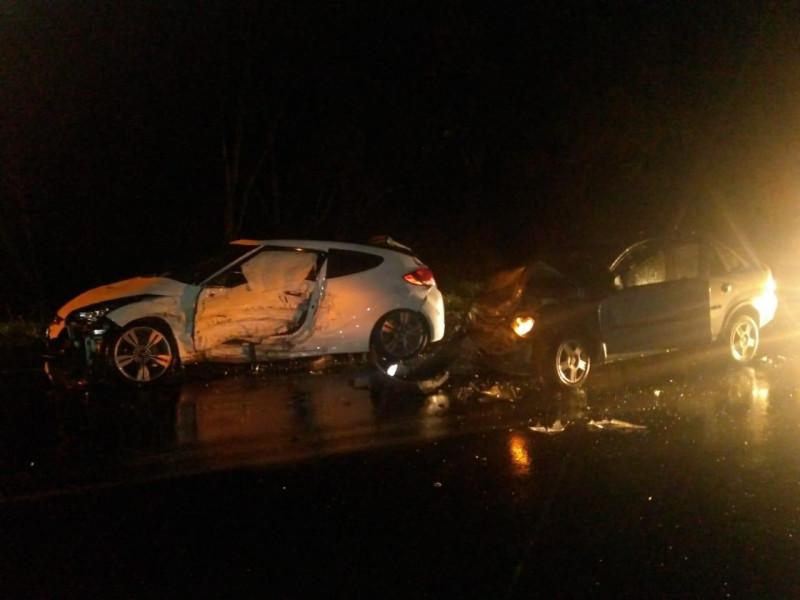 Veículo com placas de Piratuba se envolve em acidente na BR-470 em Curitibanos