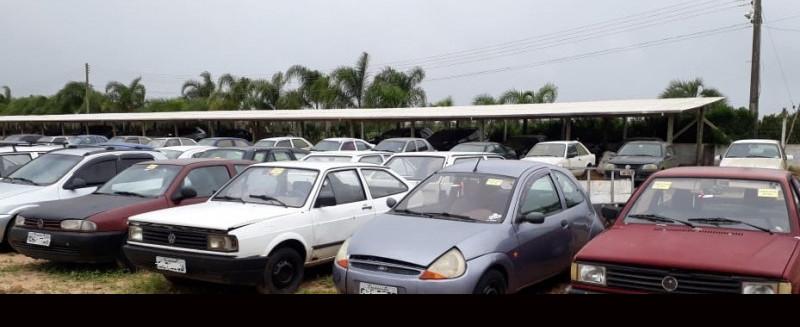 Detran realiza leilão de veículos apreendidos em Concórdia