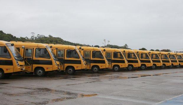 Um município da Amauc beneficiado com ônibus escolar