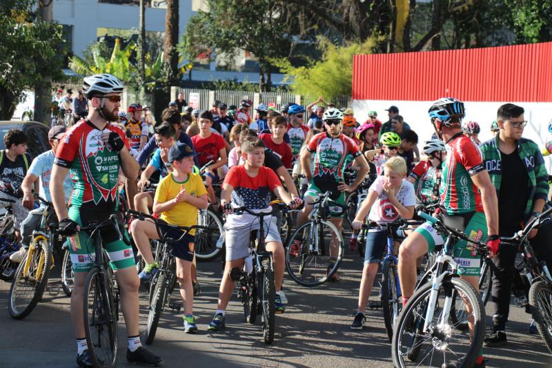Passeio Ciclístico acontece neste sábado