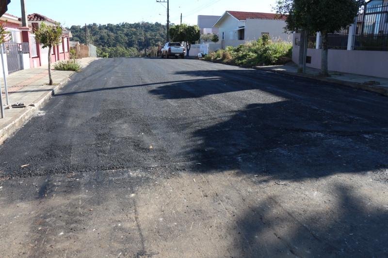 Cinco ruas irão receber obras de recapeamento