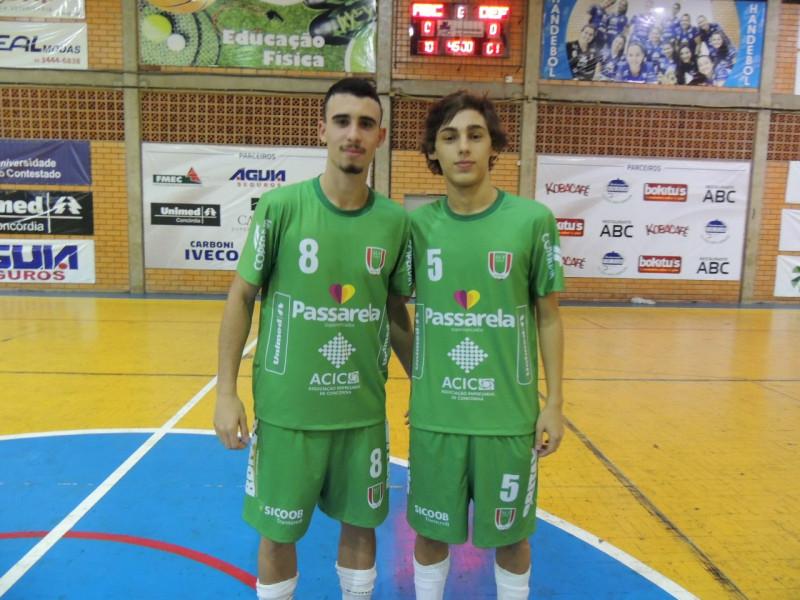 ACF representa Concórdia nos Joguinhos Abertos em Rio do Sul