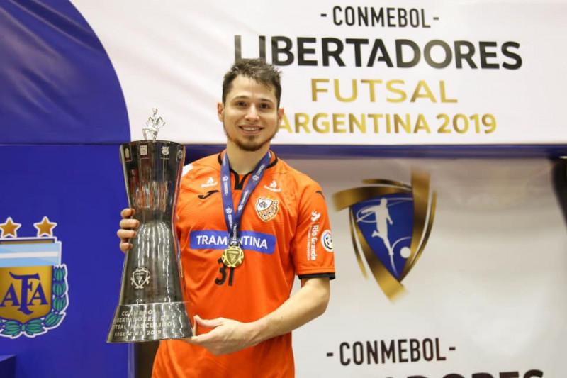 Concordiense campeão da Libertadores pelo Carlos Barbosa