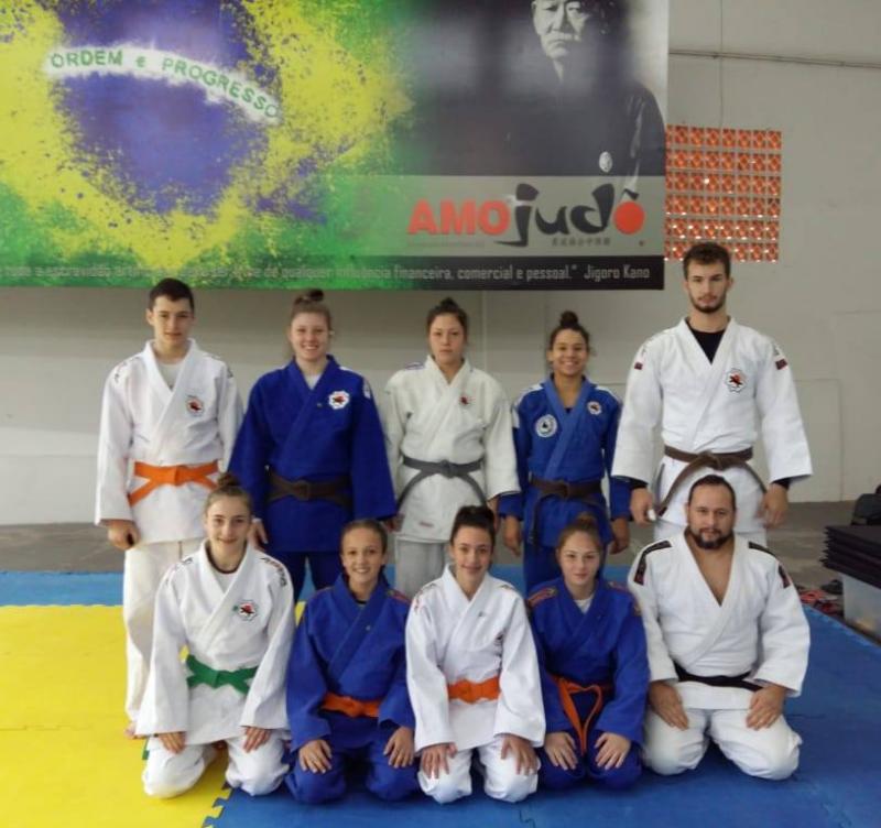 Três judocas de Concórdia convocadas para disputar o Brasileiro