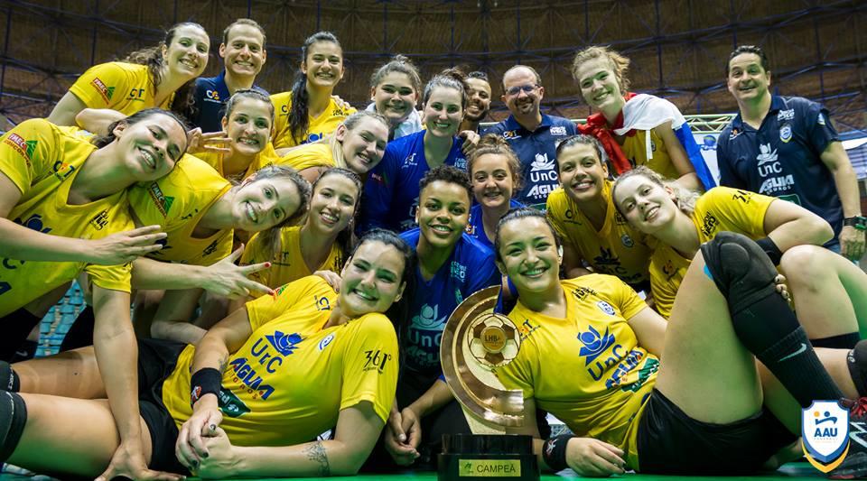 AAU inicia Liga Nacional para defender o título