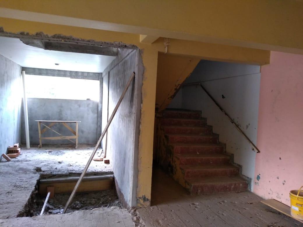 Obras da Escola de Educação Básica Eugênio Pozzo estão em andamento