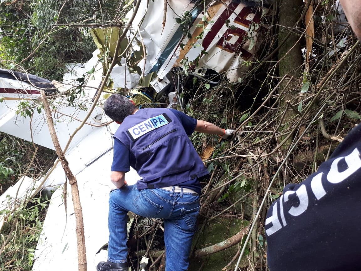 Investigação sobre queda de avião em Ipumirim será concluída nas próximas semanas