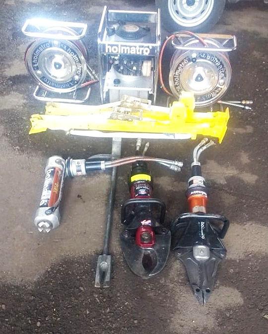 Bombeiros de Ipumirim adquirem equipamento de resgate veicular