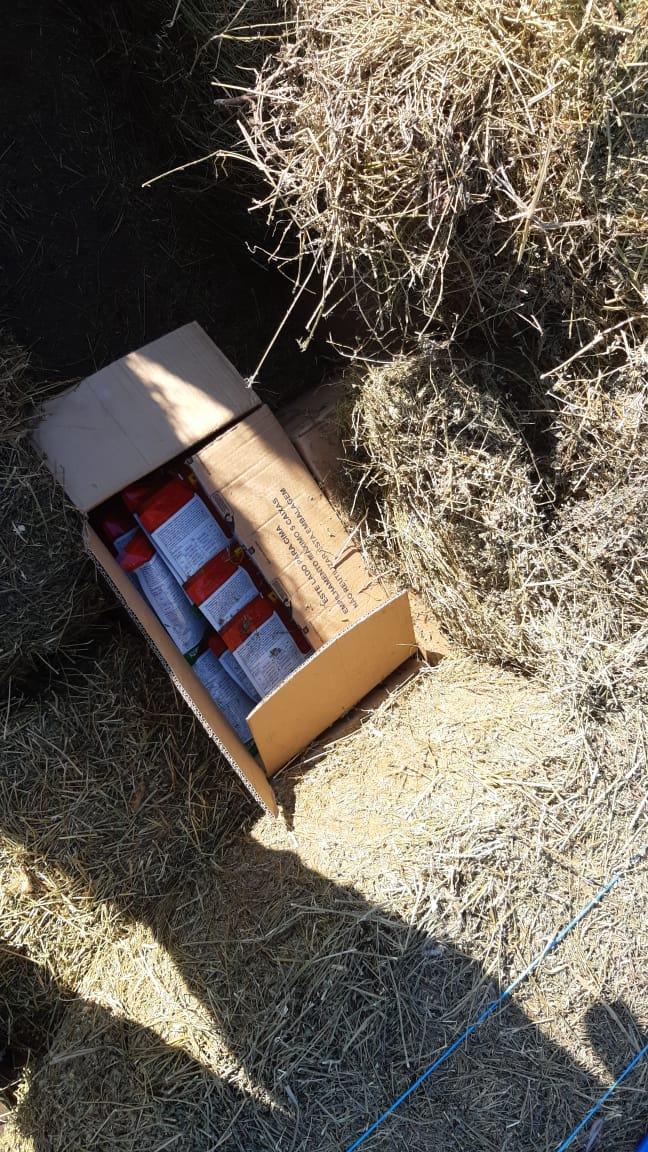 PRF apreende carga contrabandeada de agrotóxico em Irani