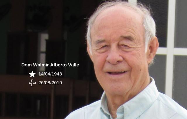 Morre Dom Walmir Alberto Valle, bispo emérito da Diocese de Joaçaba