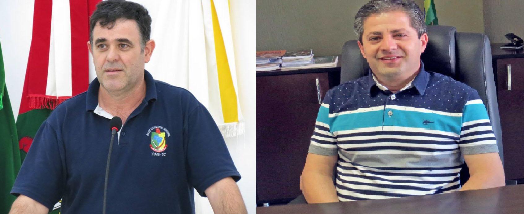 Vereador de Irani convida prefeito para sabatina na Câmara