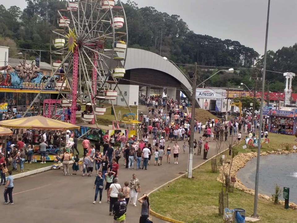 Mais de 140 mil visitantes no primeiro fim de semana de Expo Concórdia
