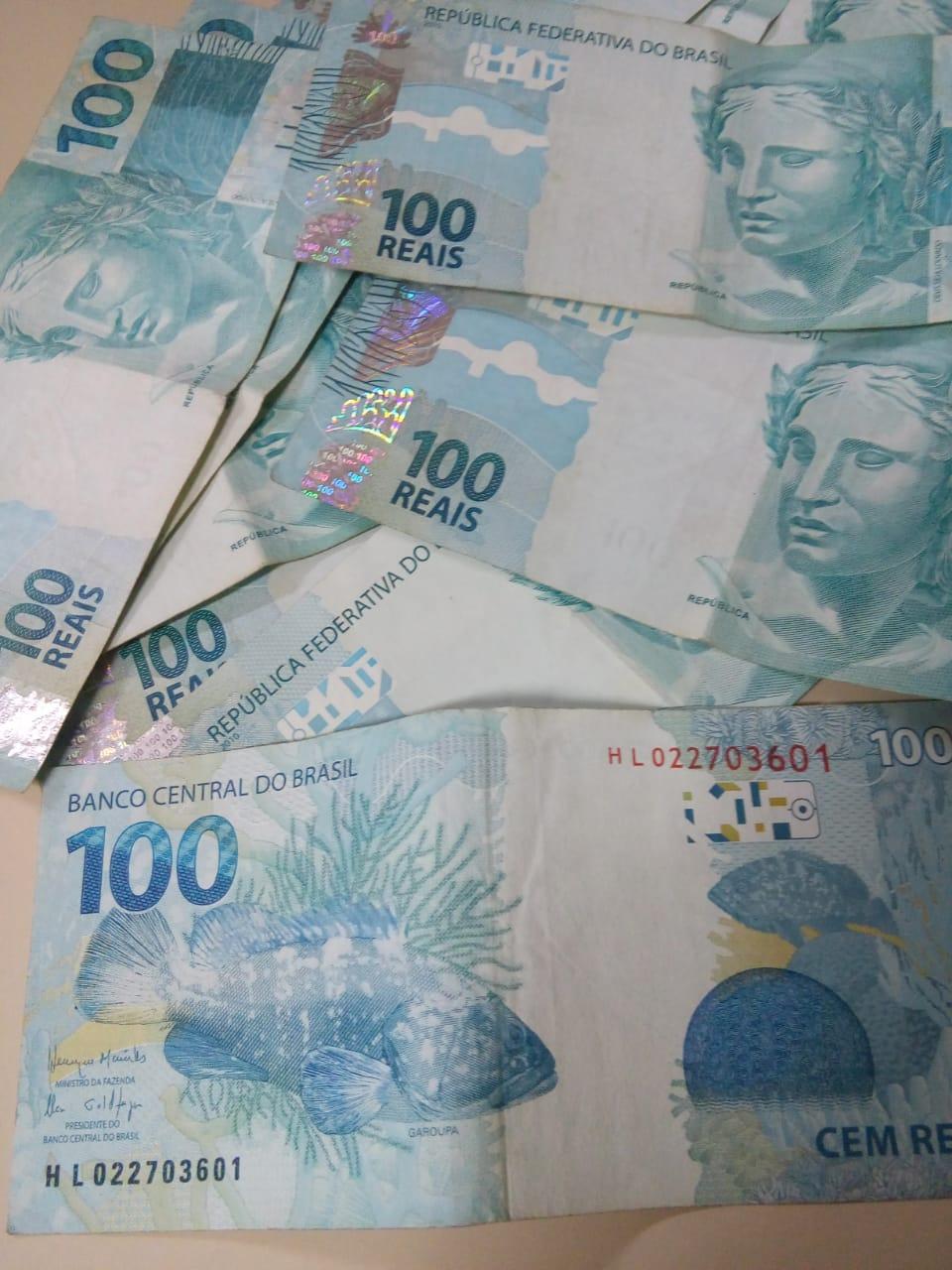 Empresário relata possível derramamento de notas falsas em Piratuba