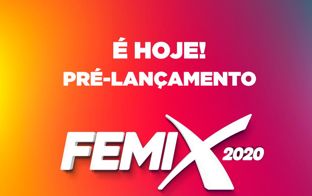 Hoje Pré-lançamento da FEMIX 2020 na EXPO Concórdia