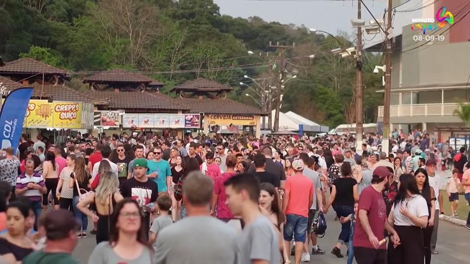 Dezesseis mil pessoas passaram pela Expo Concórdia na segunda-feira