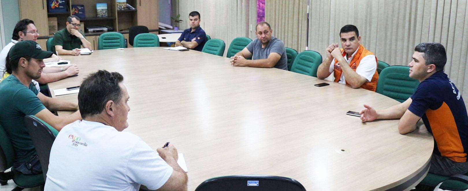 Defesa Civil de Concórdia realiza reunião para definir estratégias em função da estiagem