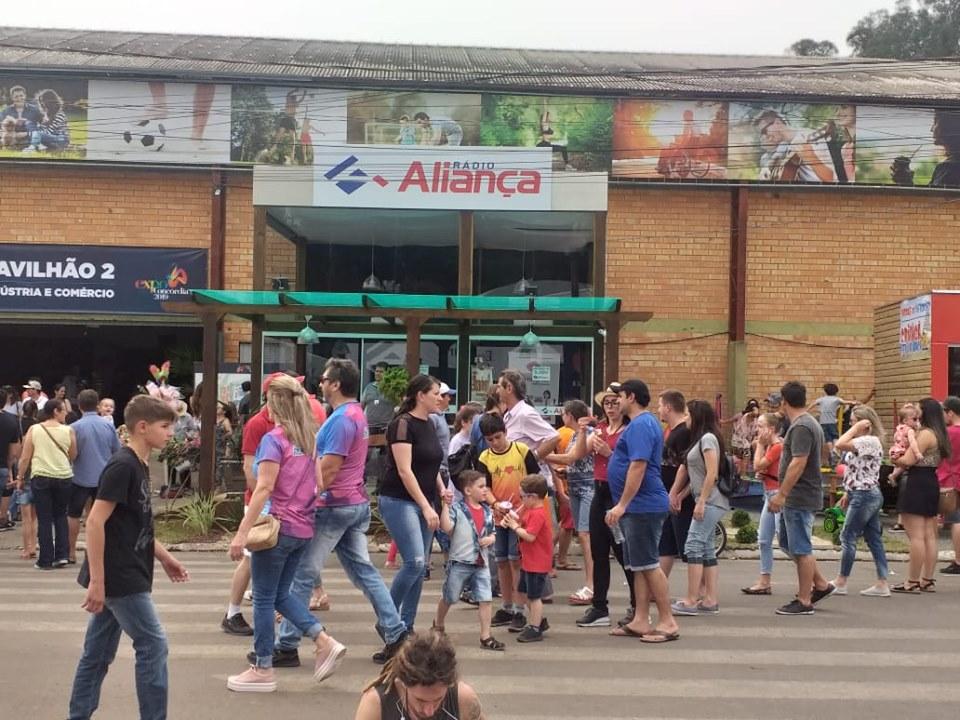 Onze mil pessoas passaram pela Expo Concórdia 2019 na quarta
