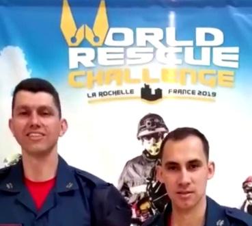 Bombeiros de Seara participam de competição mundial na França
