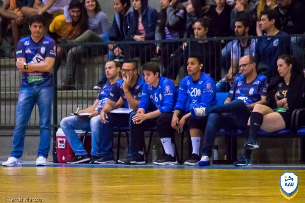 AAU perde mais um jogo pela Liga Nacional de Handebol