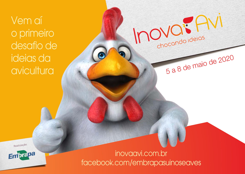 Vem aí o InovaAvi, desafio de ideias para a avicultura da Embrapa