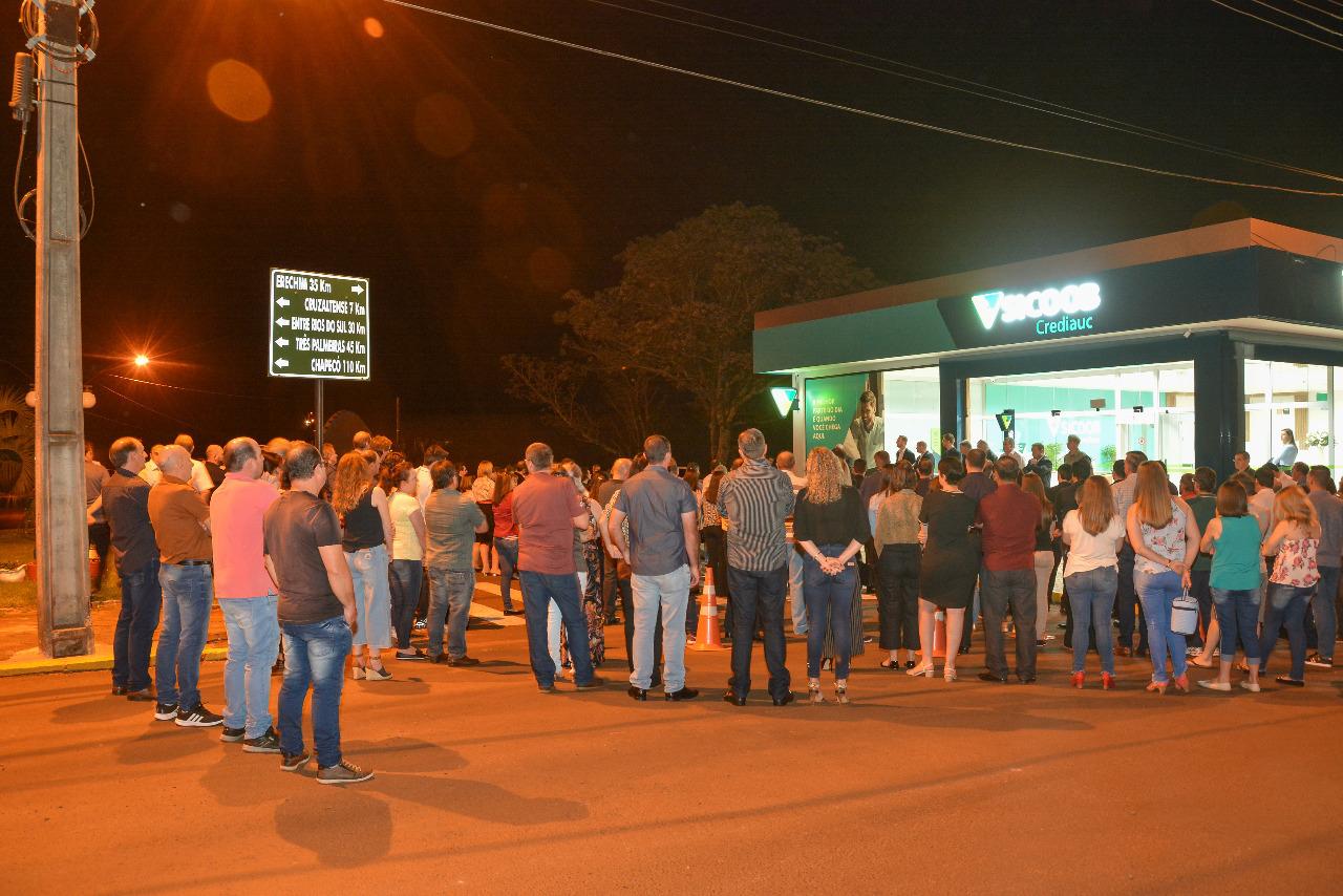 Sicoob Crediauc inaugura agência em Campinas do Sul/RS
