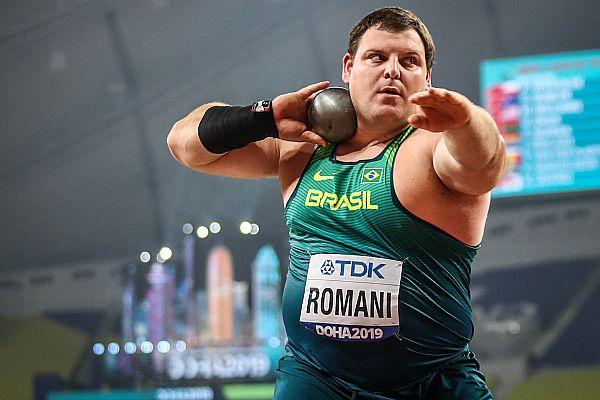 Darlan  Romani fica em quarto no Mundial de Doha