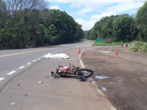 Homem morre em acidente na BR 153 em Três Arroios, RS