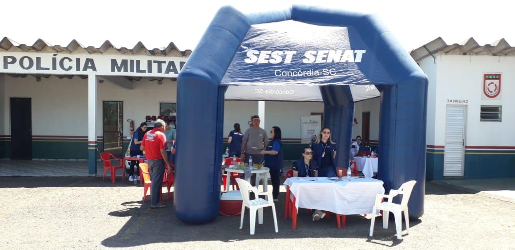 SEST SENAT realizou ações voltadas para os cuidados com a saúde dos motoristas