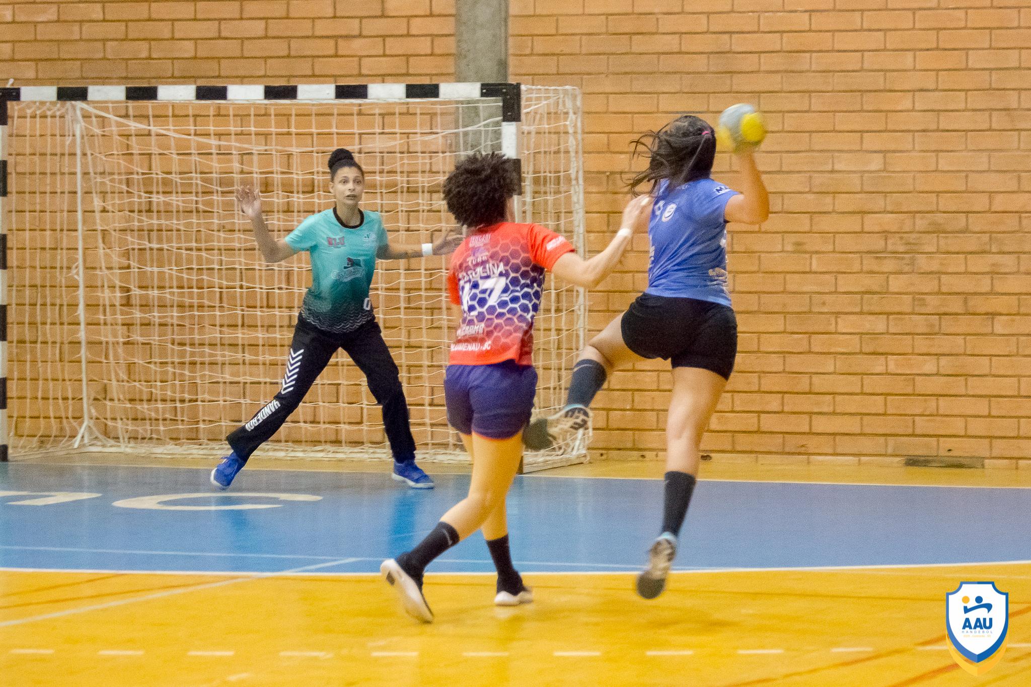 AAU reencontra a vitória na Liga Nacional de Handebol Feminino