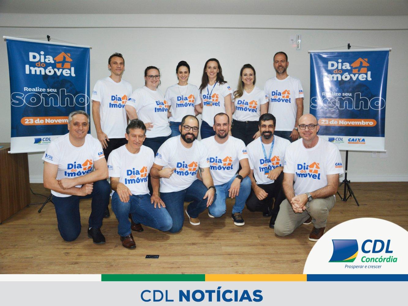 CDL, Caixa Econômica e imobiliárias de Concórdia realizam Dia + do Imóvel