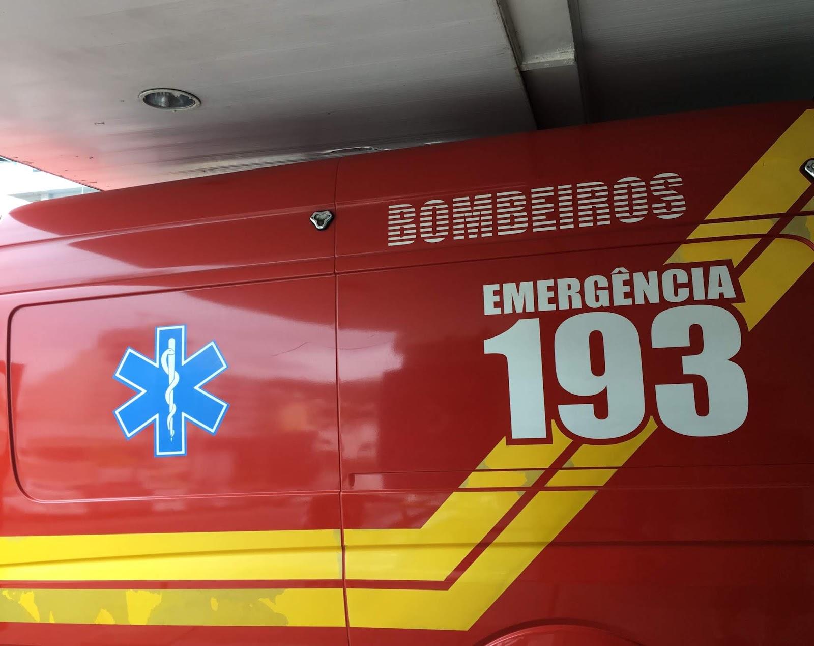 Bombeiros de Catanduvas salvam bebê de dois meses que se afogou com vômito