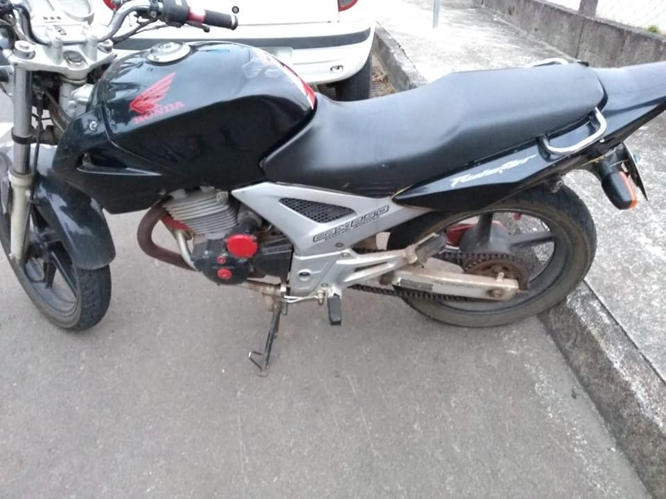 Moto é furtada na madrugada desta quarta-feira em Concórdia