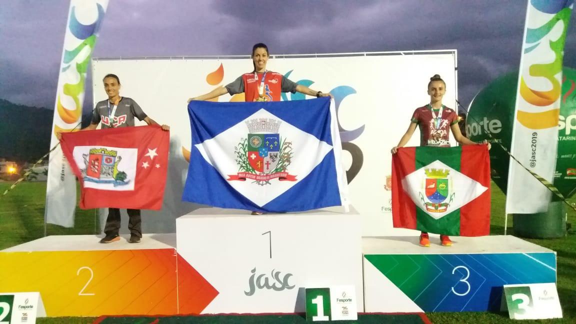 Atletas de Concórdia conquistam mais três medalhas nos JASC