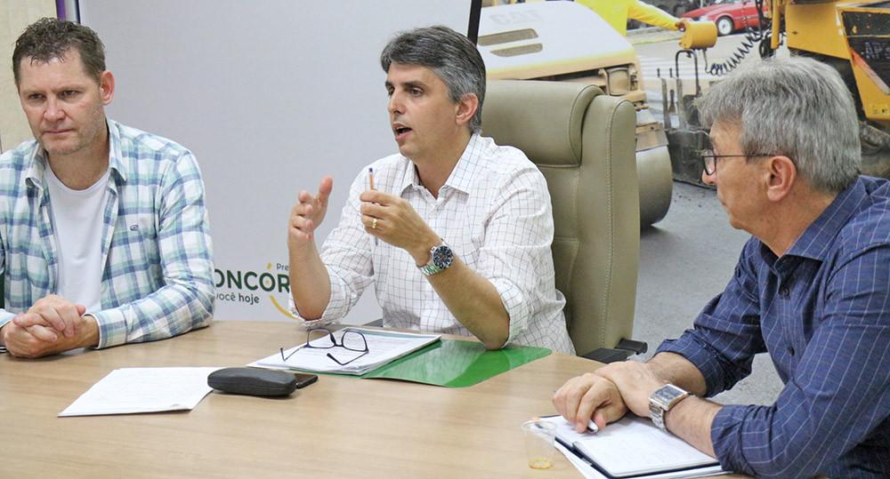Administração trata do futuro do abastecimento de água em Concórdia