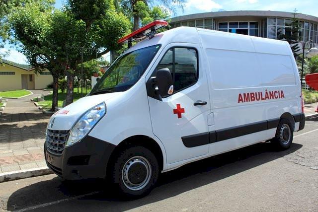 Município de Peritiba recebe ambulância e veículo já está à disposição da população