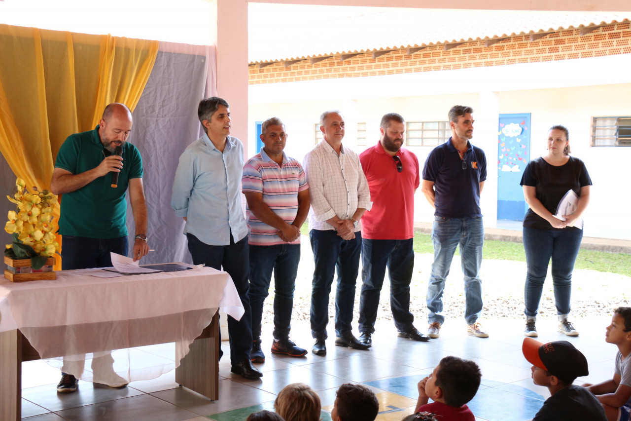 Assinada ordem de serviço para melhorias no GEM Nelly Muller de Lima