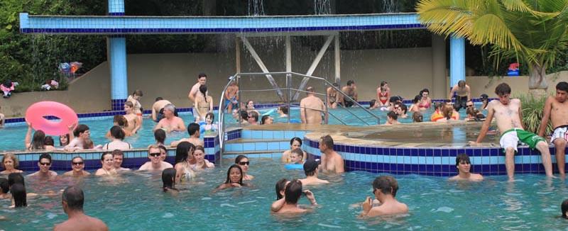 Companhia Hidromineral de Piratuba não exige mais exame médico para acesso às piscinas