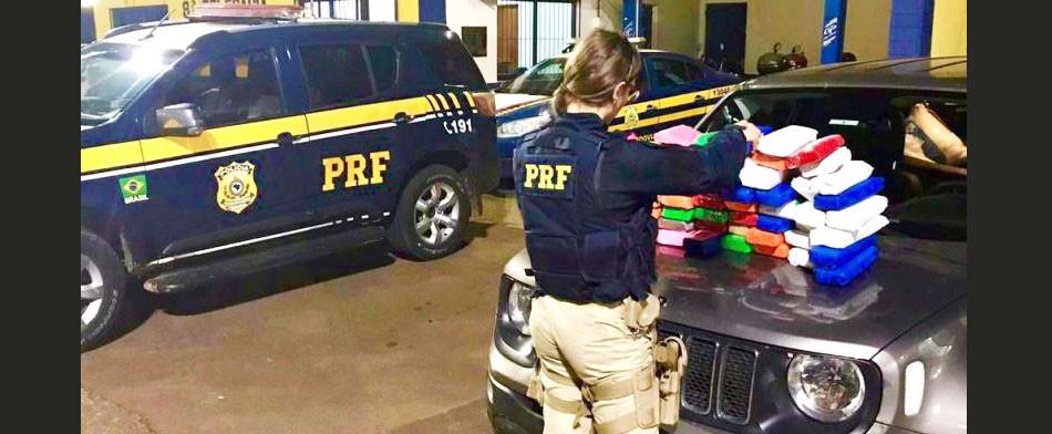 VÍDEO - Homem de Concórdia é preso em Passo Fundo com mais de 34 quilos de maconha