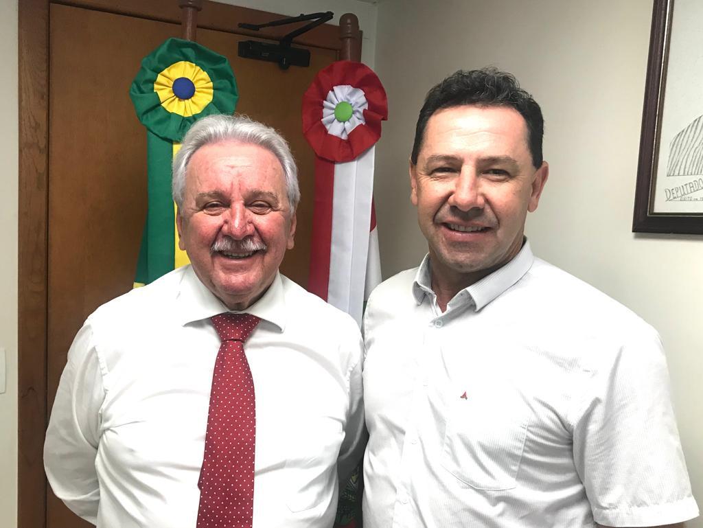 Prefeito Nei assegura valores em torno de R$ 1 milhão para Ipumirim