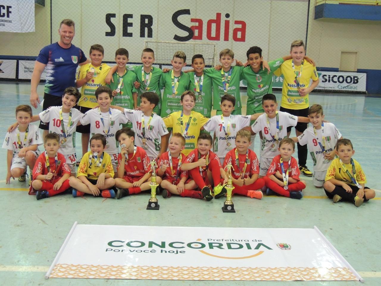 Torneio das Escolinhas de Futsal foi atração na SER Sadia