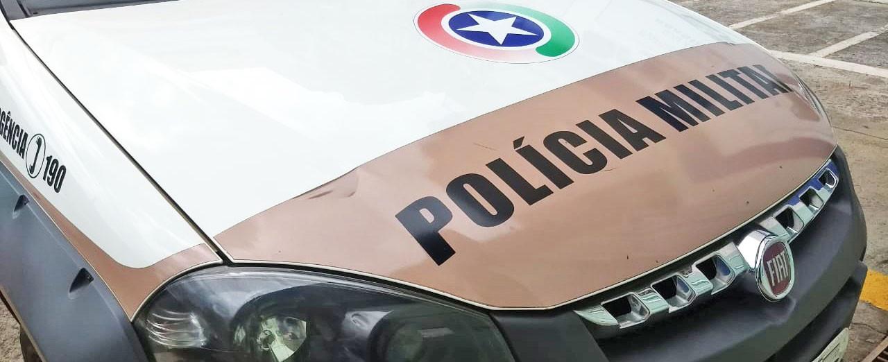 Motorista não para em abordagem policial em Piratuba, carro é abordado em Ipira e condutor foge a pé