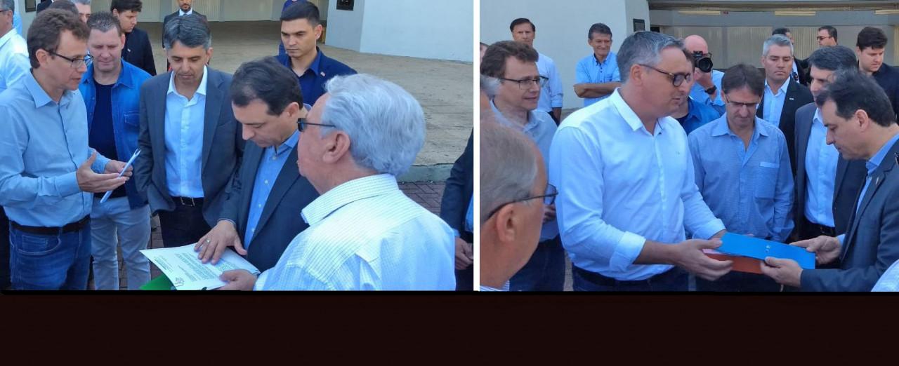 ACIC e CDL de Concórdia apresentam demandas ao governador Carlos Moisés
